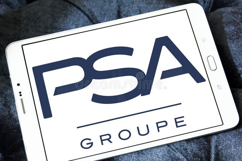Logo de Groupe PSA images stock