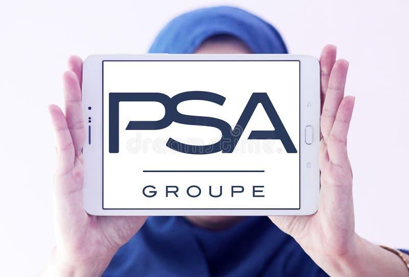 Logo de Groupe PSA photos libres de droits