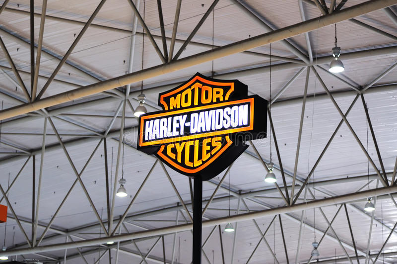 Logo de Harley Davidson photos libres de droits