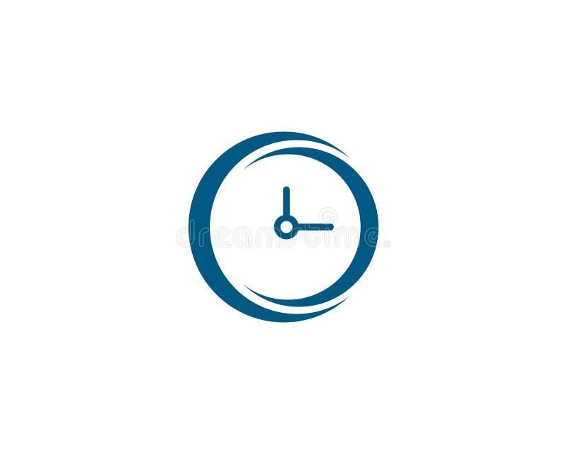 logo de horodateur illustration de vecteur