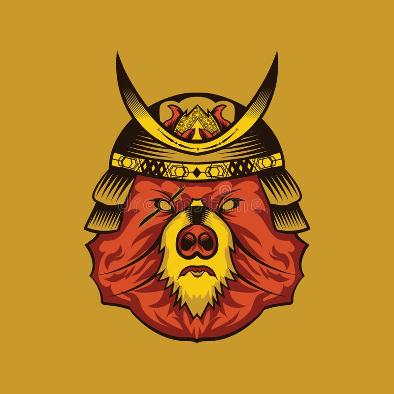 Logo de jeu d'Esport d'ours illustration libre de droits