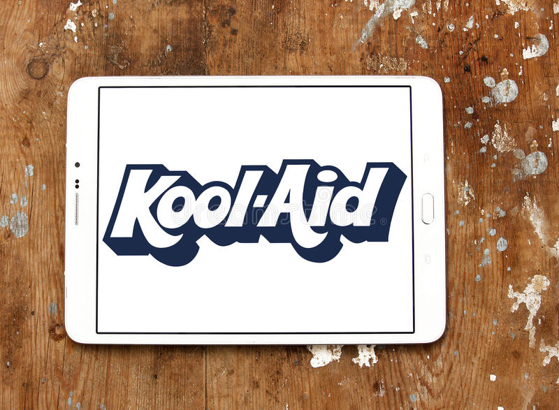 Logo de Kool-aide photos libres de droits