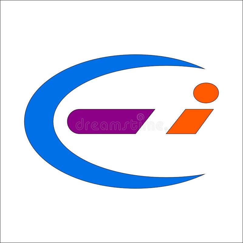 Logo de la lettre C Dans illustration libre de droits