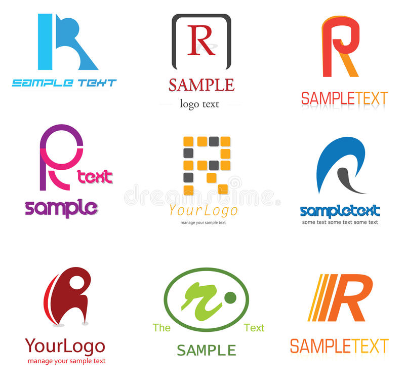 Logo de la lettre R
