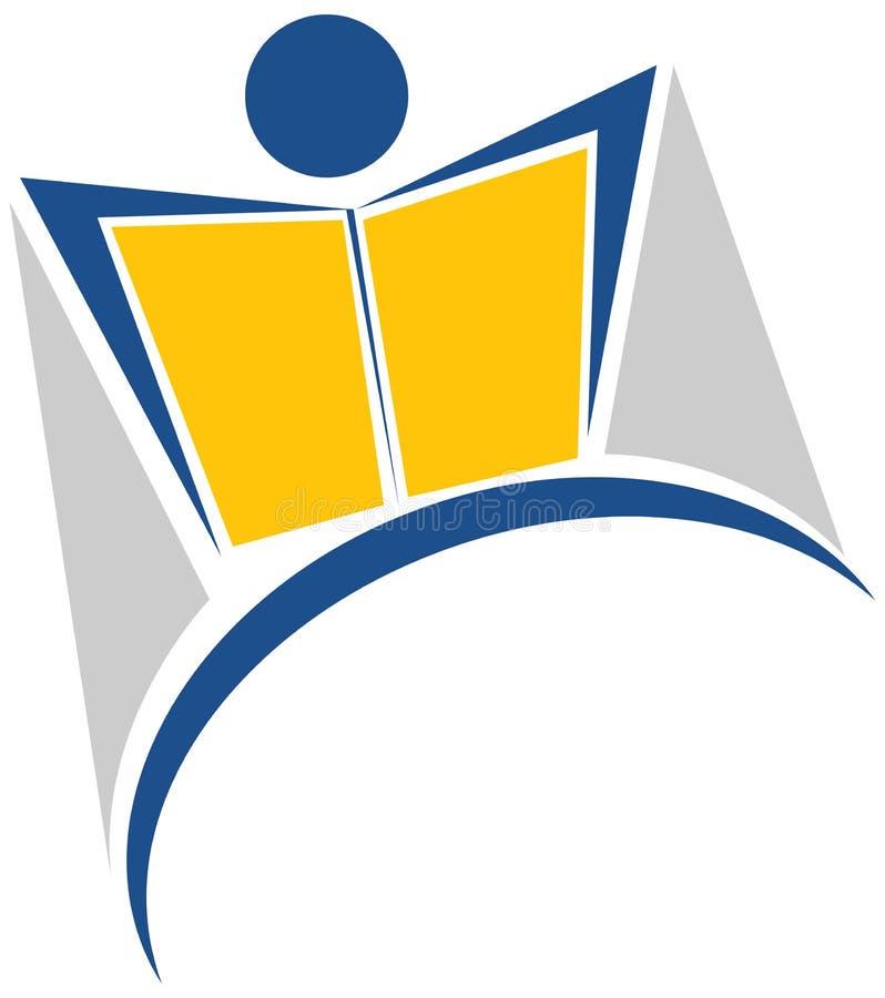Logo de lecteur illustration stock
