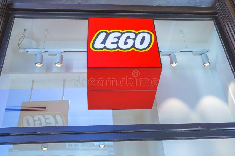 Logo de Lego Store images stock