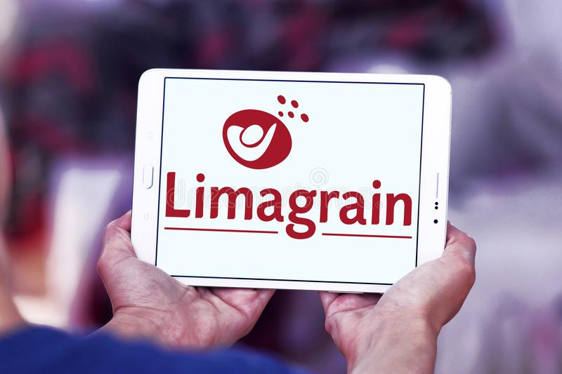 Logo de Limagrain Groupe photo stock