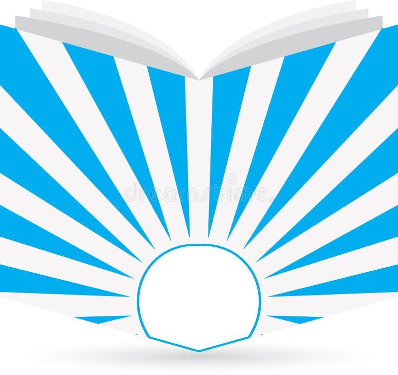 Logo de livre illustration stock