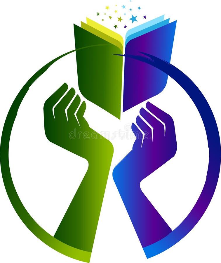 Favori Logo de livre de main illustration de vecteur. Image du dessin  DJ69