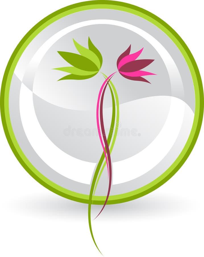 Logo de lotus illustration stock