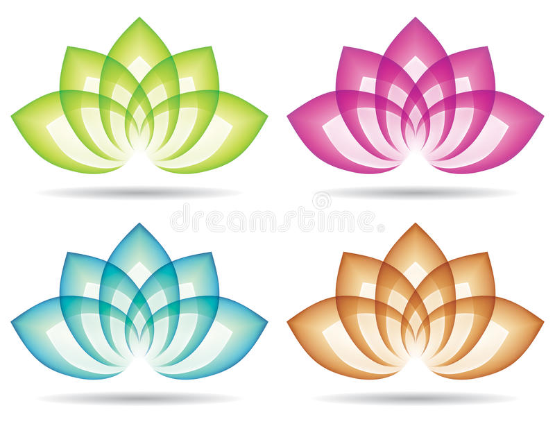 Logo de Lotus illustration libre de droits