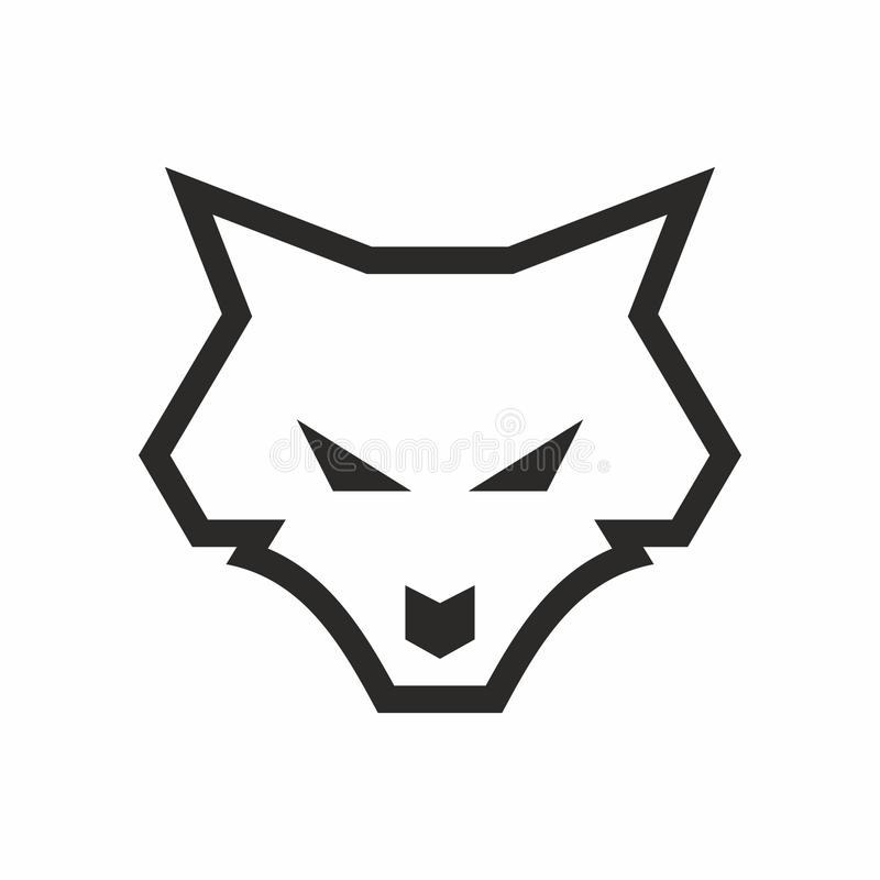 logo de loup de sch u00e9ma illustration stock  image du base