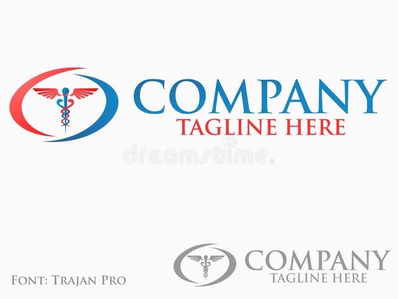 Logo de médecine illustration de vecteur
