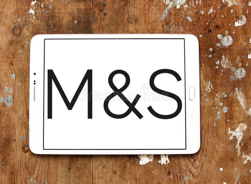 Logo de Marks and Spencer photo libre de droits