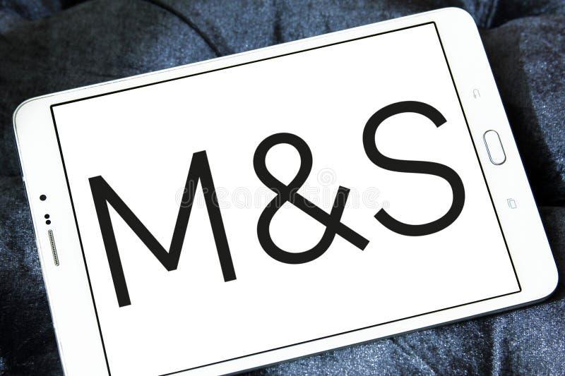 Logo de Marks and Spencer photographie stock