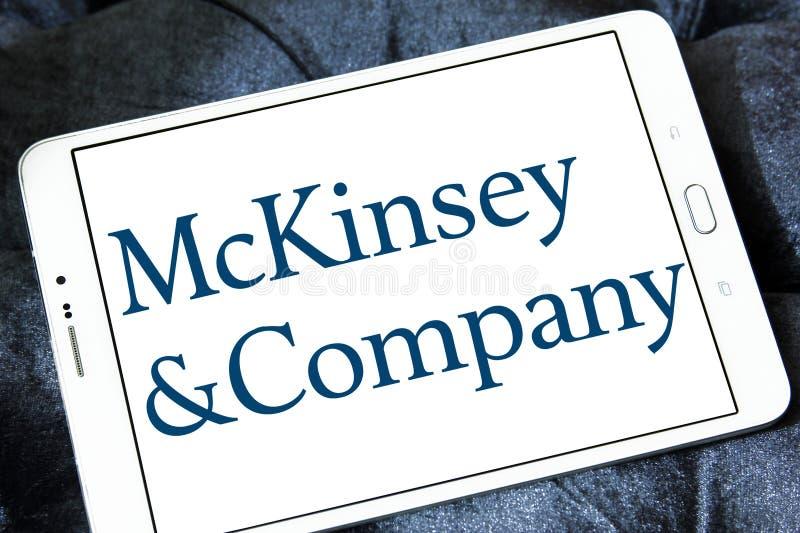 Logo de McKinsey & Company photos libres de droits