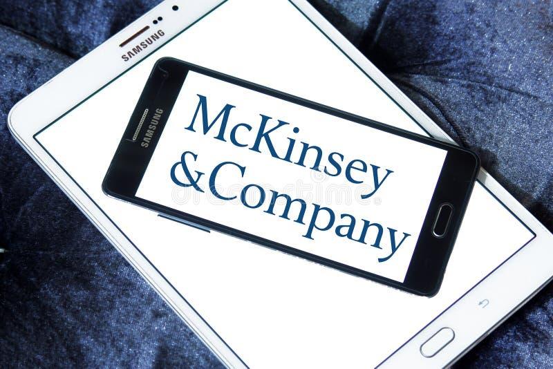 Logo de McKinsey & Company photographie stock libre de droits