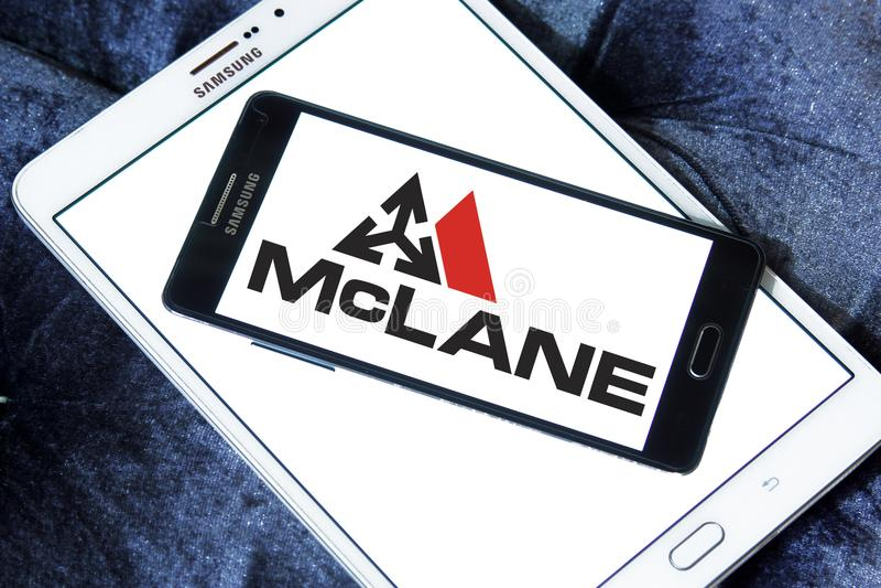 Logo de McLane Company photographie stock libre de droits