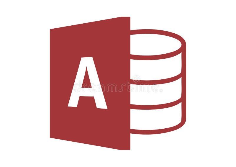 Logo 2013 de Microsoft Access illustration de vecteur