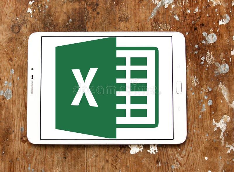 Logo de Microsoft Excel photo libre de droits