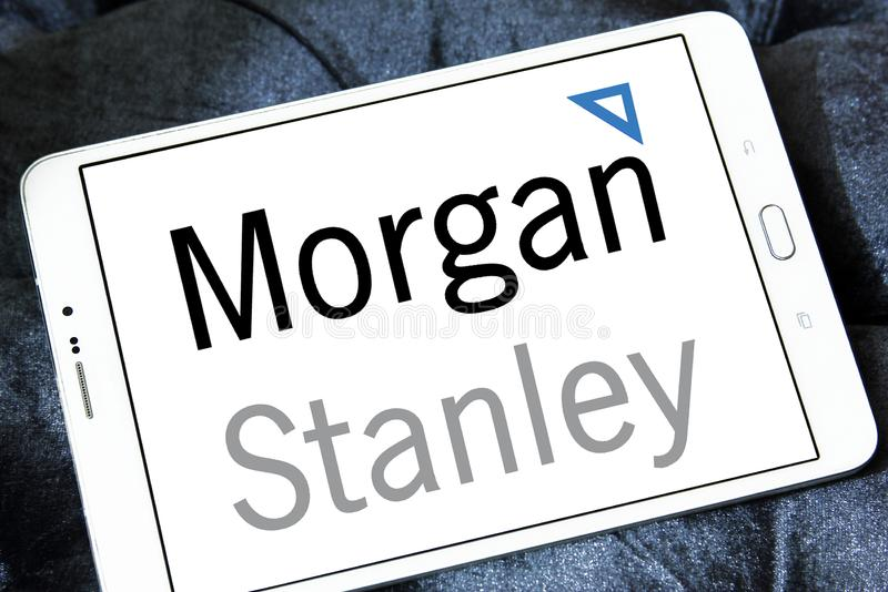 Logo de Morgan Stanley photo libre de droits
