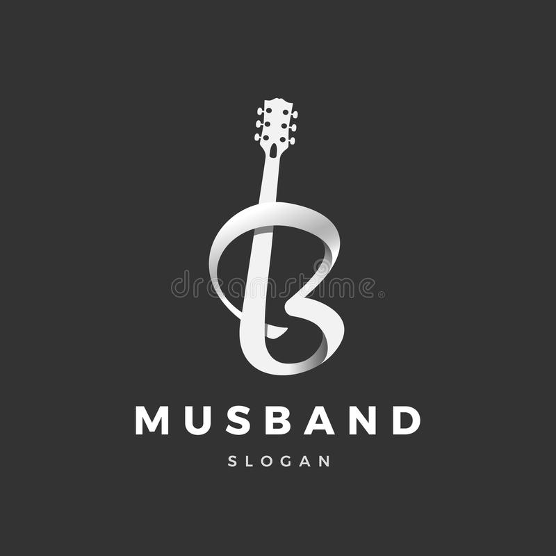 Logo de Musband illustration de vecteur