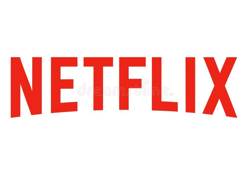 Logo de Netflix illustration libre de droits