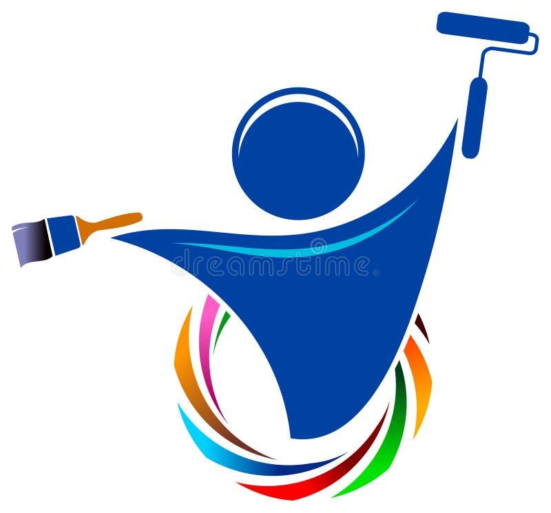 Logo de peintre