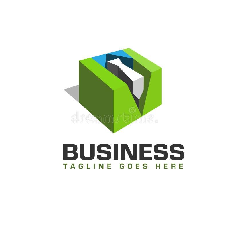 logo de personnel de la place 3d illustration libre de droits