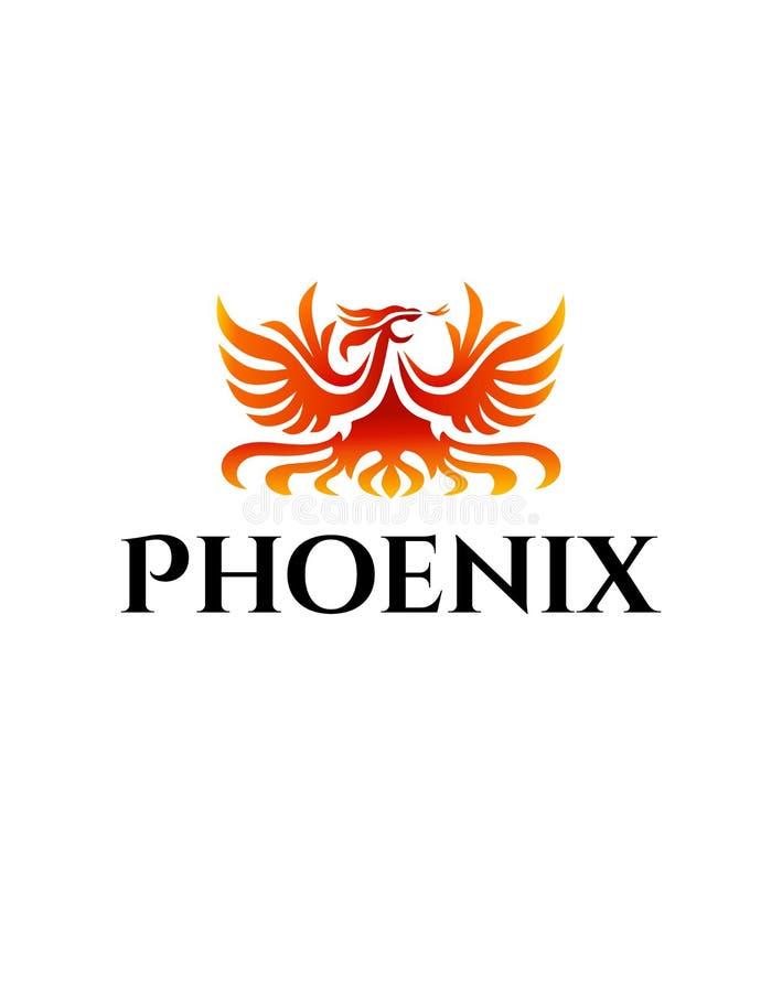 Logo de Phoenix illustration de vecteur
