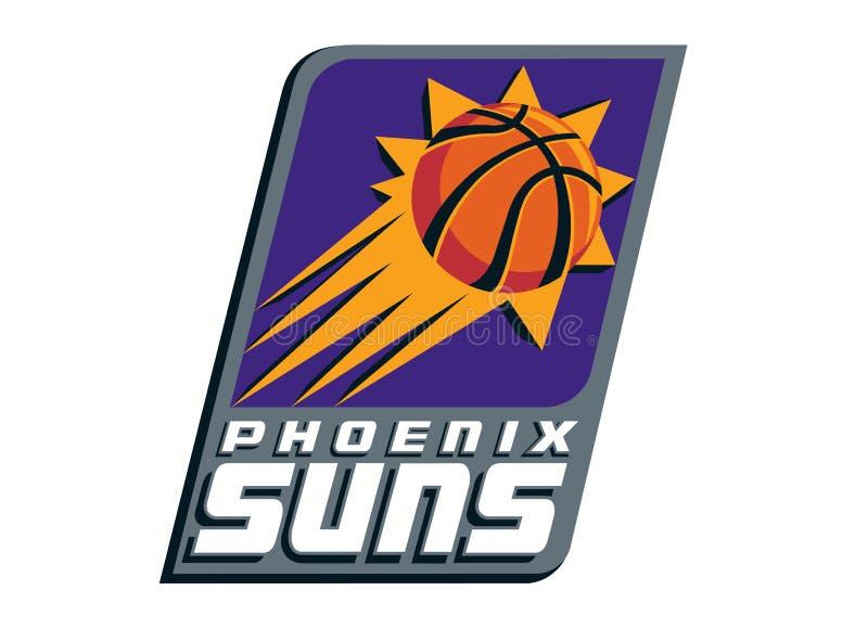 Logo de Phoenix Suns illustration de vecteur