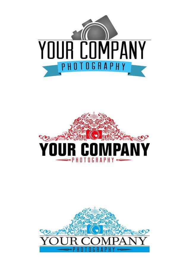 Logo de photographe illustration libre de droits