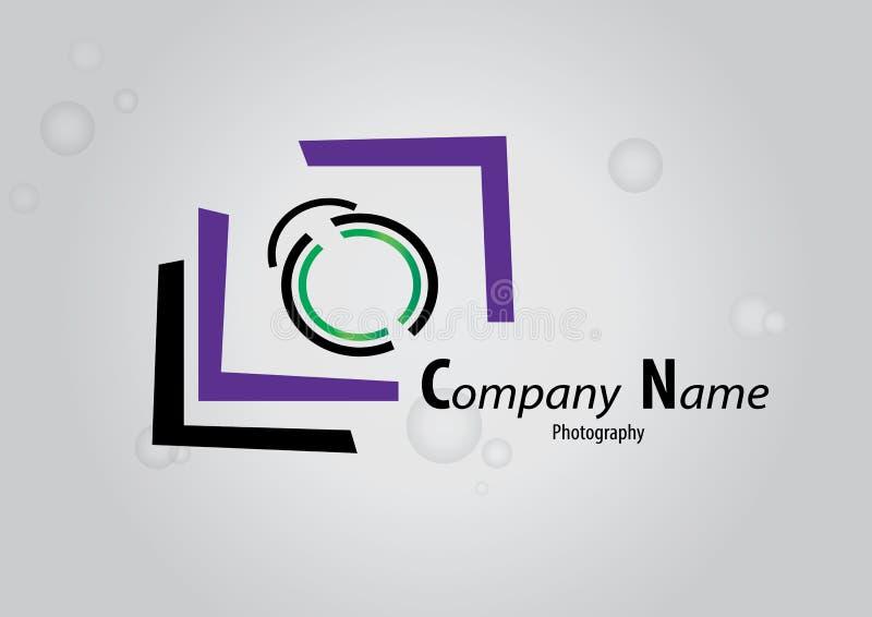 Logo de photographie illustration libre de droits