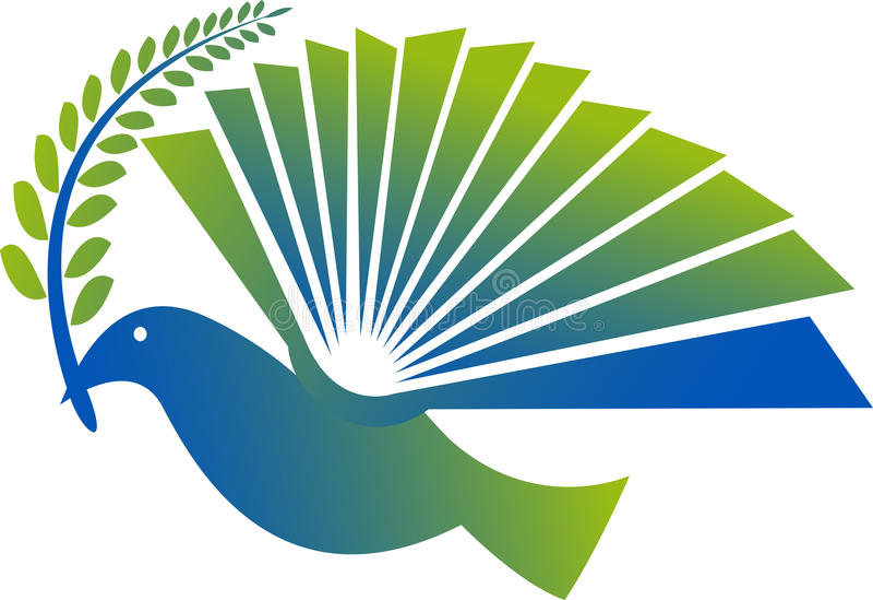 Logo de pigeon illustration stock