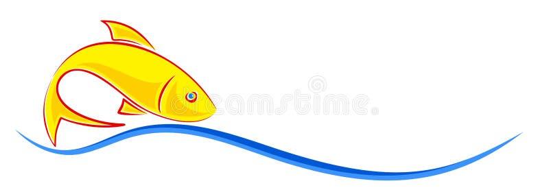 Logo de poissons illustration libre de droits