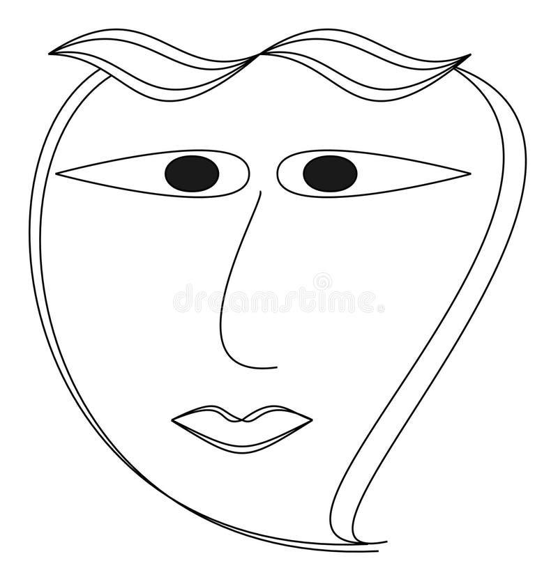 Logo de produit de beauté illustration de vecteur