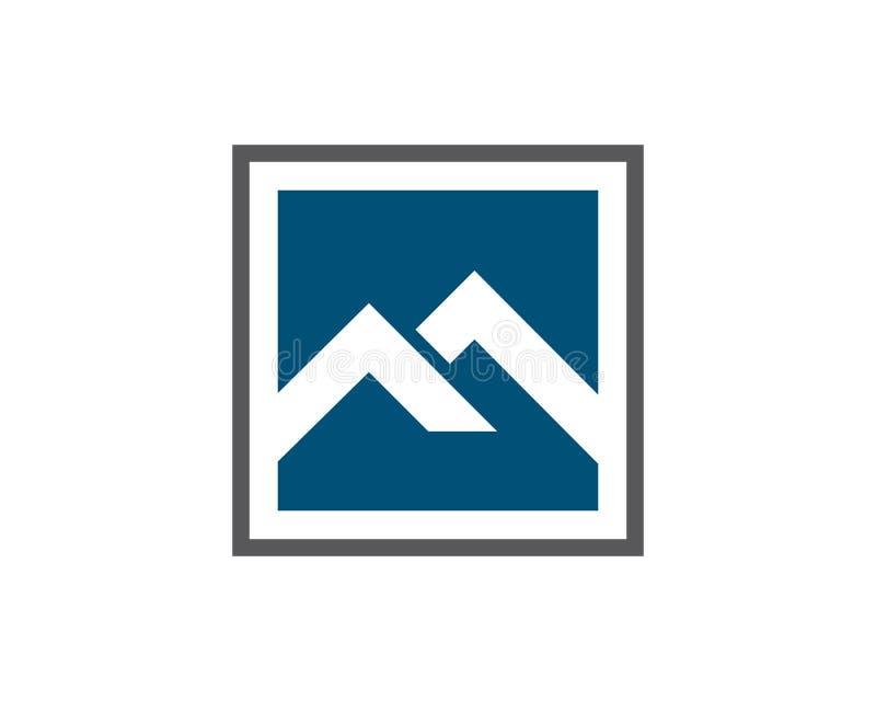 Logo de propriété et de construction illustration stock
