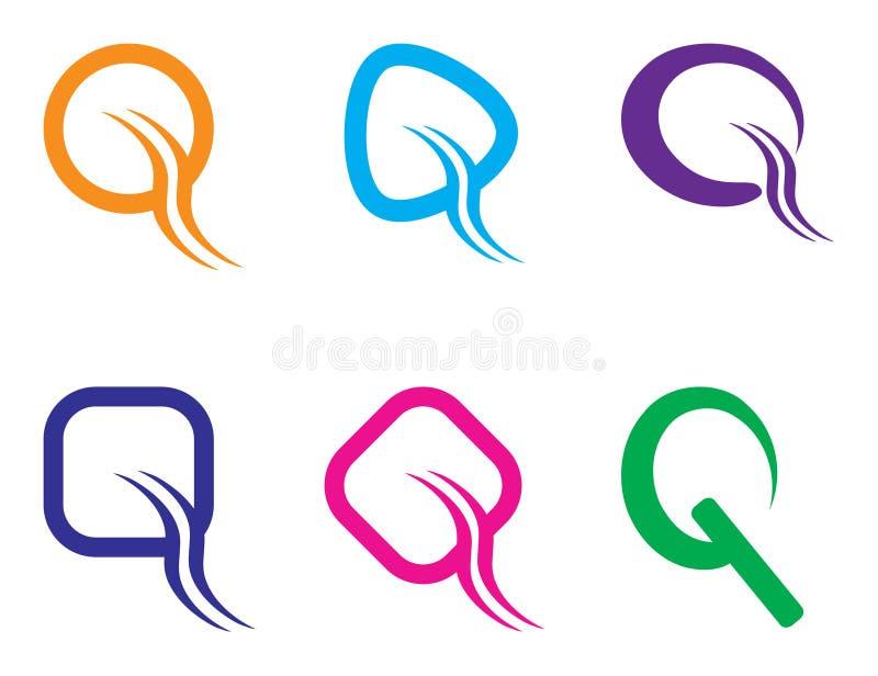 Logo de Q illustration libre de droits