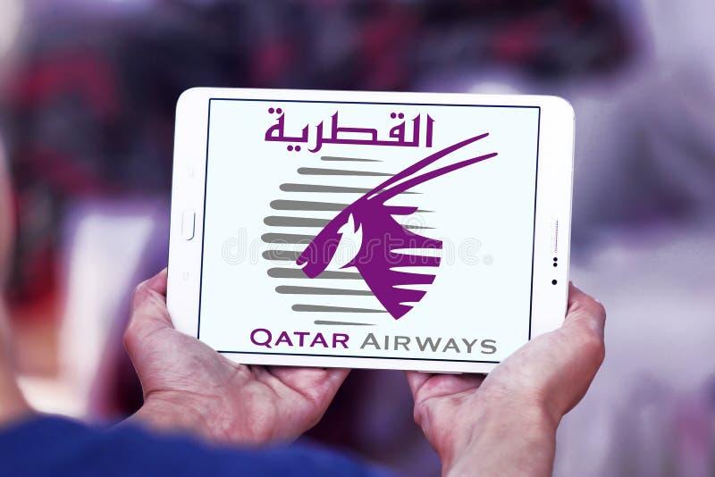 Logo de Qatar Airways photo stock