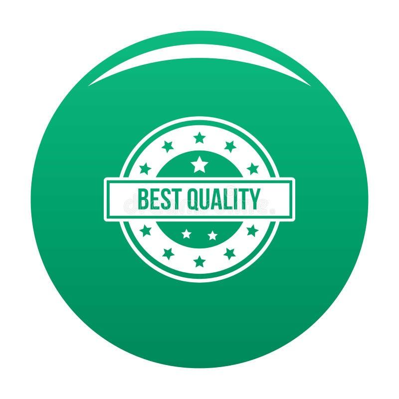 Logo de qualité, style simple illustration stock