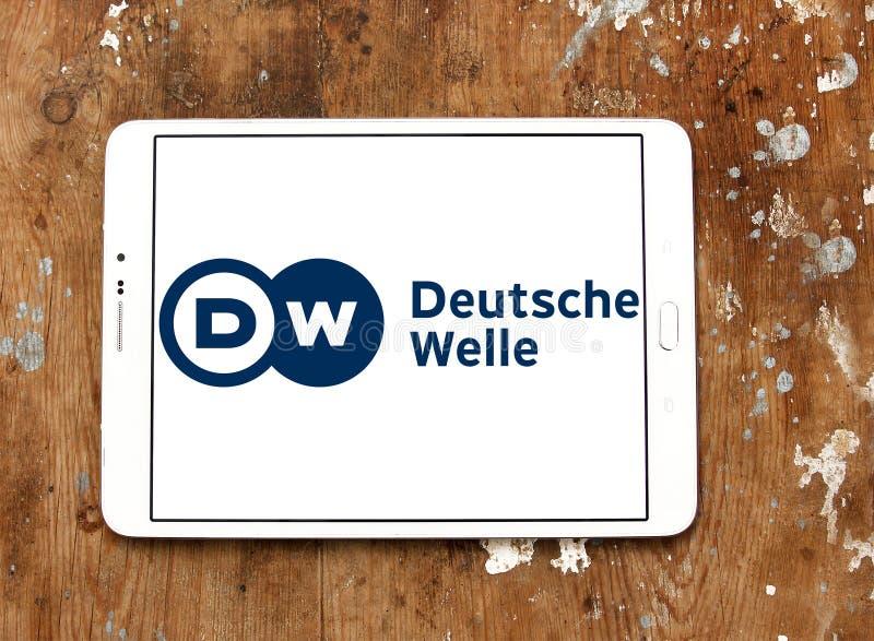Logo de radiodiffuseur de Deutsche Welle photographie stock libre de droits