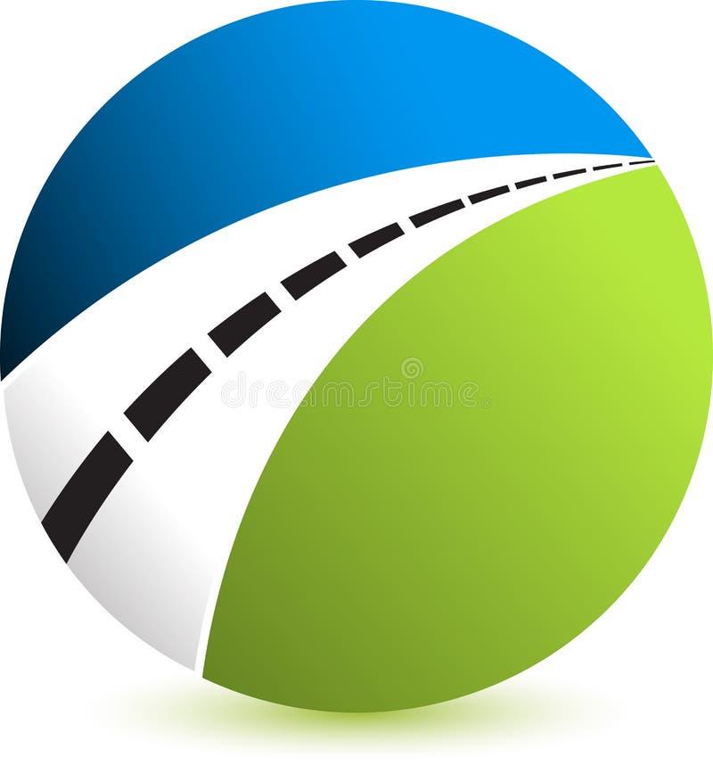 Logo de route illustration libre de droits