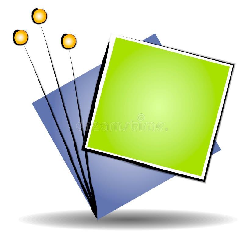 Logo de site Web d'art abstrait   illustration stock