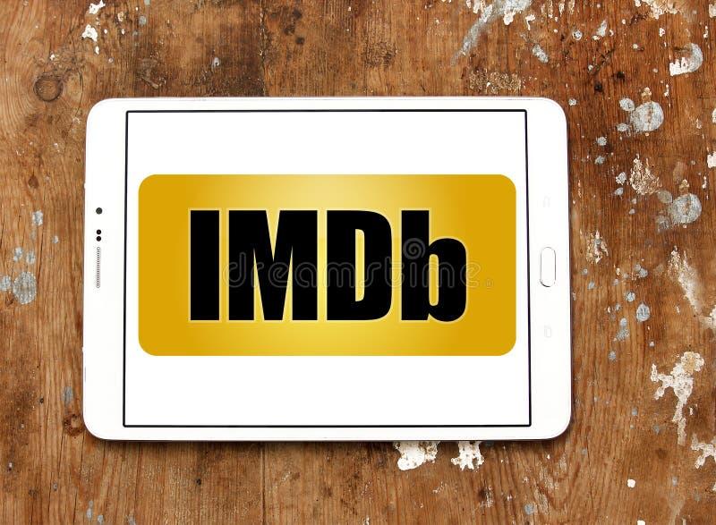Logo de site Web d'IMDb photographie stock libre de droits