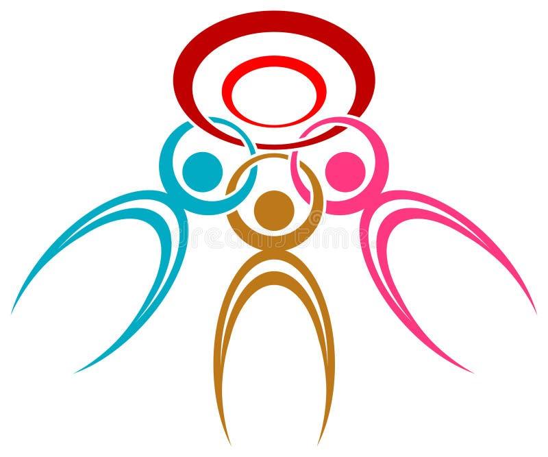 Logo de société illustration de vecteur