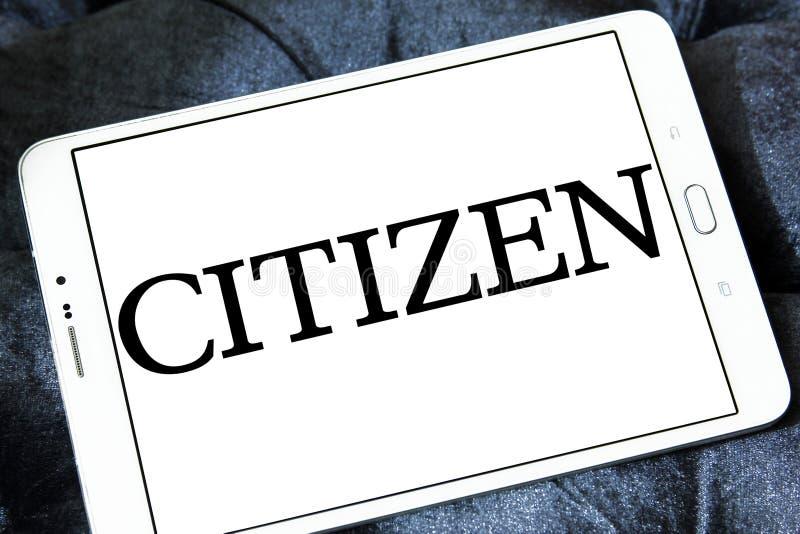 Logo de société de citoyen photo stock
