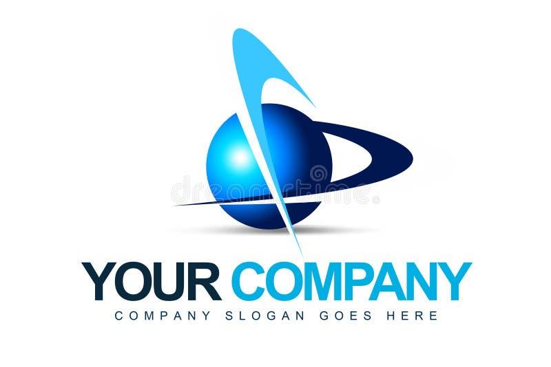 Logo de société commerciale illustration libre de droits