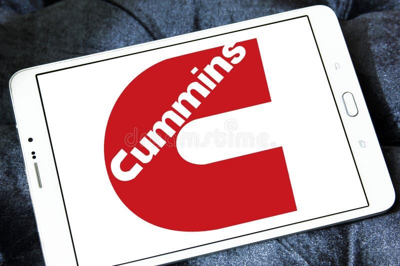 Logo de société de Cummins photos libres de droits
