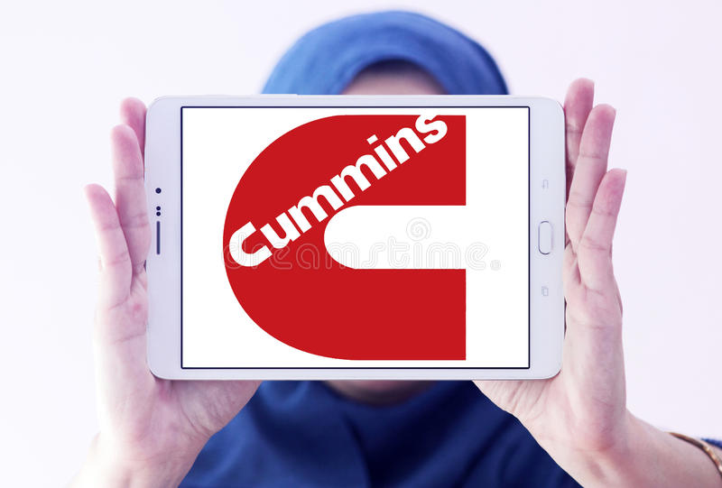 Logo de société de Cummins photos stock
