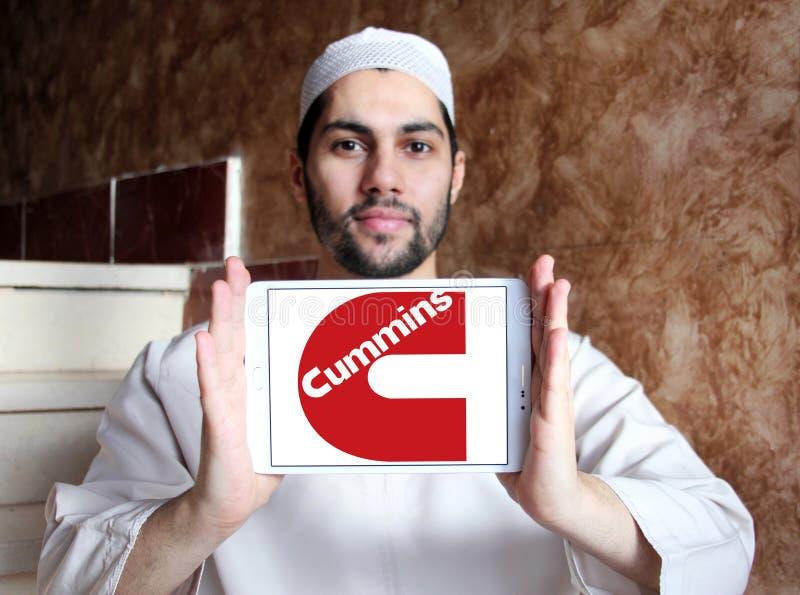 Logo de société de Cummins photographie stock